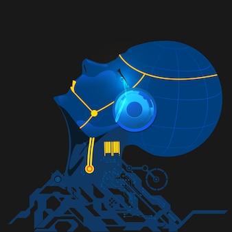 Cyborg che piange