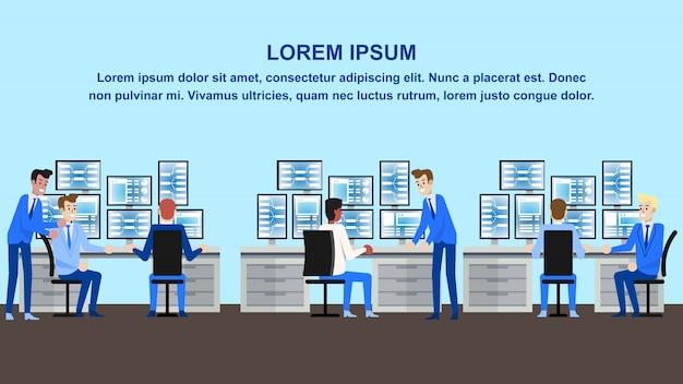 Data analysis office
