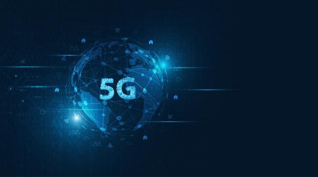Dati di connessione all'innovazione ad alta velocità della rete globale.