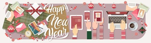 Decorazione del regalo di natale della compressa del telefono del computer portatile di nuovo anno