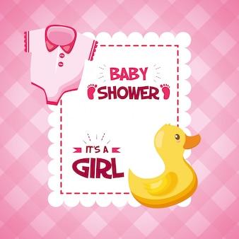 Decorazione per baby shower