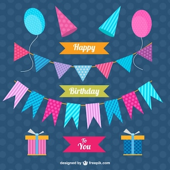 Decorazione set di compleanno