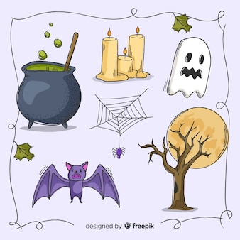 Decorazione spettrale per halloween