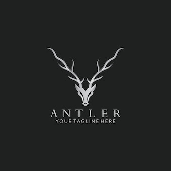 Deer vector logo design