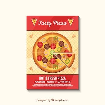 Deliziosa brochure pizza
