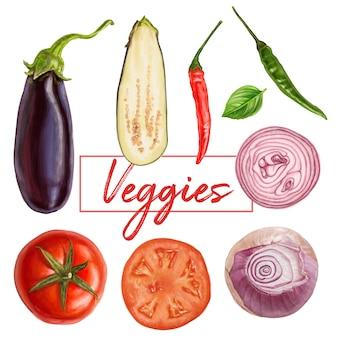 Deliziose verdure fresche