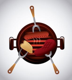Delizioso barbecue barbeque
