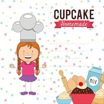 Delizioso cupcake