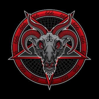 Demone baphomet 666