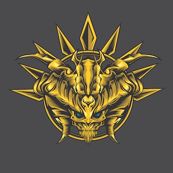 Demone d'oro