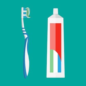Dentifricio e spazzolino da denti