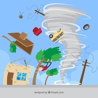 Design a tornado