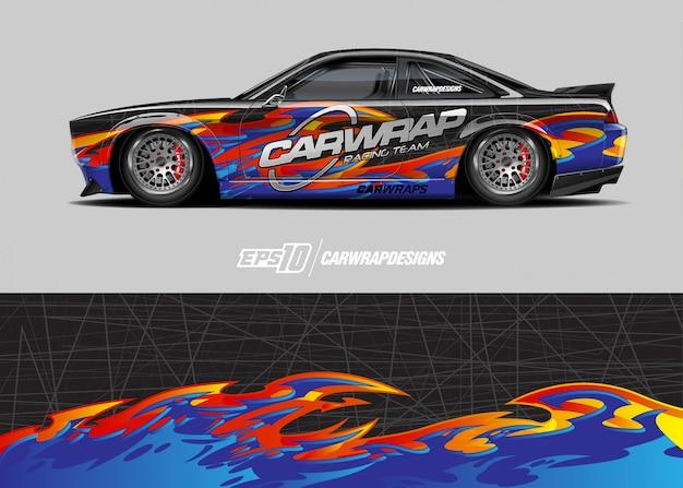 Design adesivo per auto