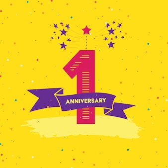 Design anniversario background