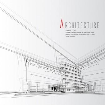 Design architettura di sfondo
