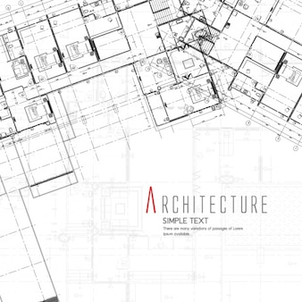Blueprint foto e vettori gratis for Design di architettura domestica gratuito