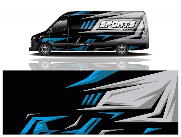 Design avvolgente per auto van per azienda