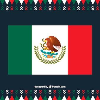 Design bandiera messicana