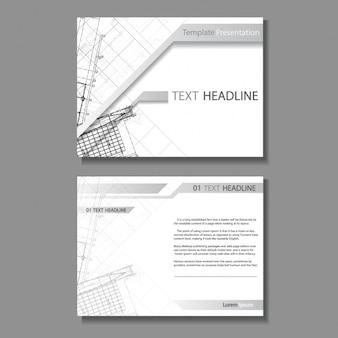 Design brochure architettura