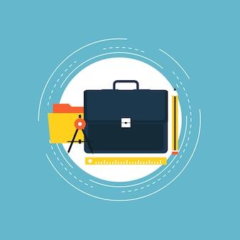 Design business background