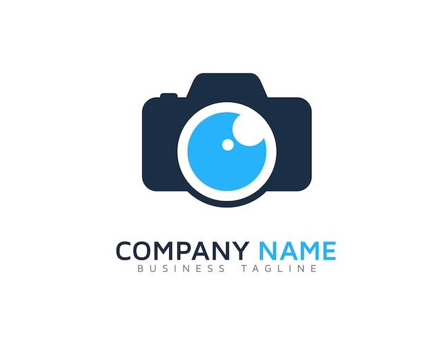 Design camera logo occhio