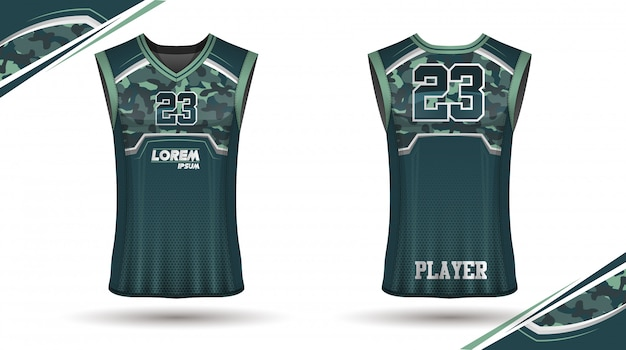 Design camicia da basket