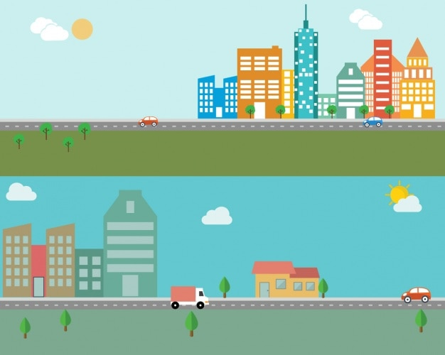 Design city skylines