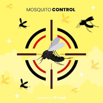 Design creativo di controllo delle zanzare