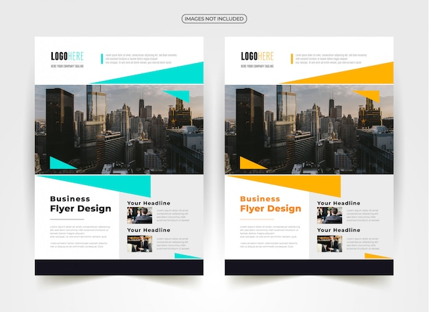 Design creativo flyer