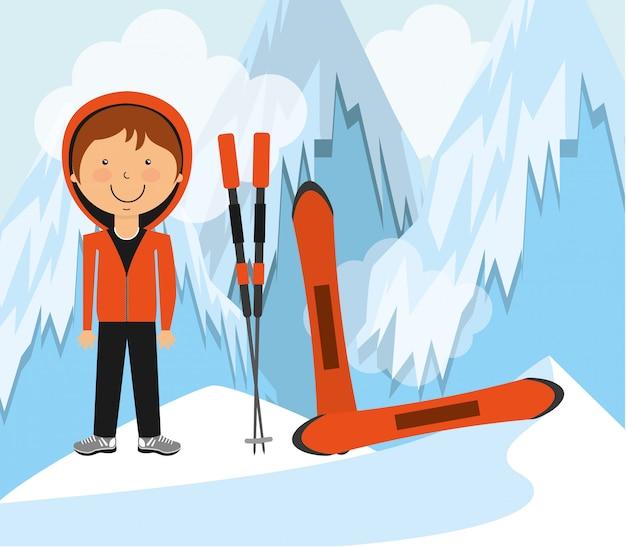 Design degli sport invernali