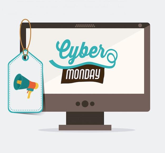 Design del cyber monday