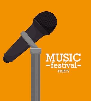 Design del festival musicale