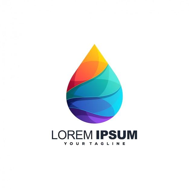 Design del logo colore bio gas