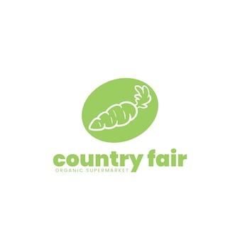 Design del logo del supermercato