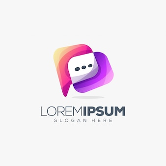 Design del logo della chat