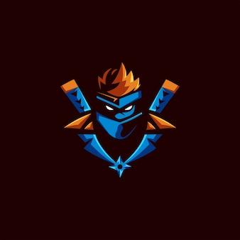 Design del logo di esporta ninja