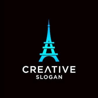 Design del logo di parigi