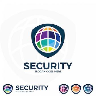 Design del logo di sicurezza