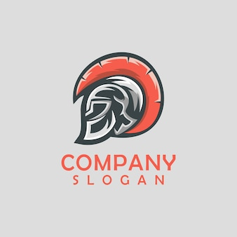 Design del logo spartano