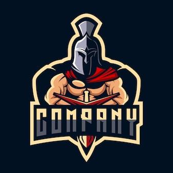 Design del logo spartano