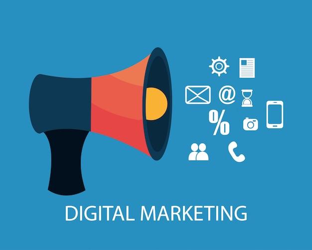 Design del marketing digitale.