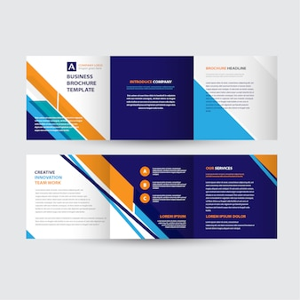 Design del modello di brochure