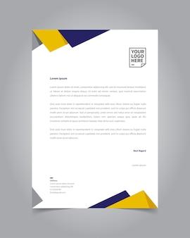 Design del modello di carta intestata