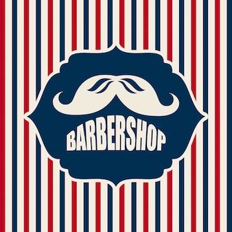 Design del negozio di barbiere