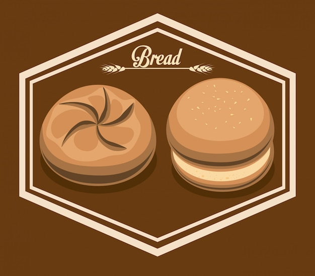 Design del negozio di panetteria