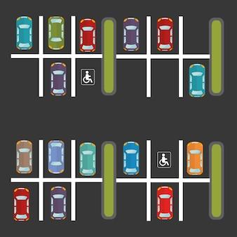 Design del parcheggio