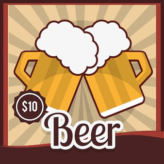 Design del prodotto della birra