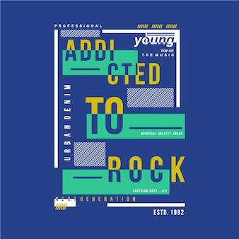Design del telaio di testo per maglietta giovane