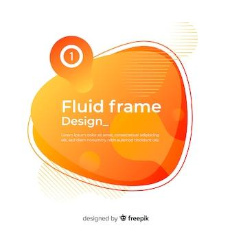 Design del telaio fluido