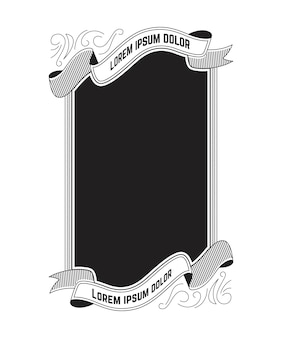 Design del telaio vintage